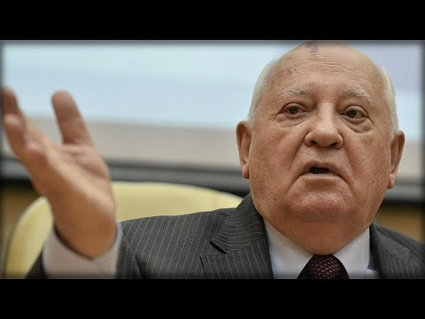 """GORBACHEV WARNS """"THE NEXT WAR WILL BE THE LAST"""""""