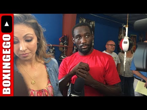 Live: Terence Crawford versus INDONGO Media Day