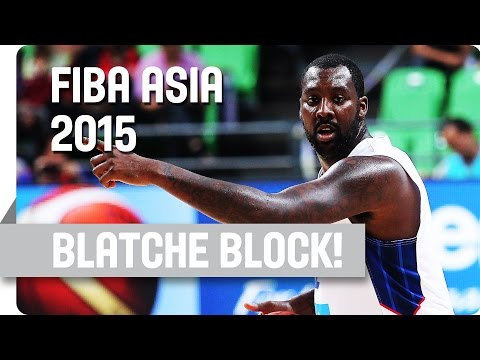 Andray Blatche Says NO! - 2015 FIBA Asia Championship