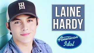 The story of Laine Hardy and his Journey to the American Idol live shows | 2019 |Season 17