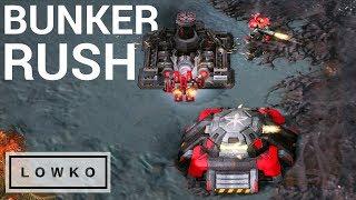 StarCraft 2: BUNKER RUSH?!