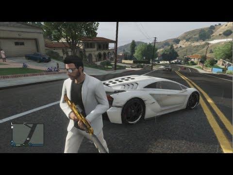 GTA 5 ONLINE - Nuevos Coches en GTA V , Nueva arma y Nuevas casas - GTA 5 ONLINE GAMEPLAY - DLC