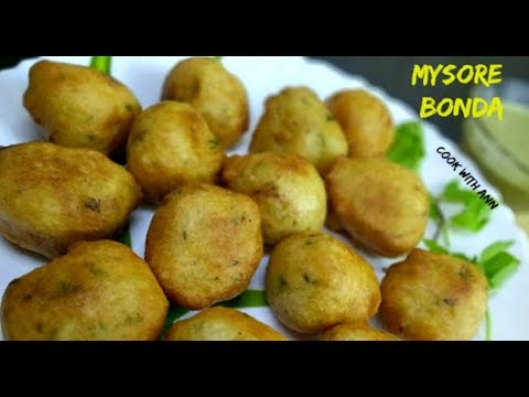 Mysore Bonda Recipe | How to Make Mysore Bonda | Simple Easy Mysore Bajji Recipe