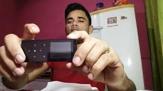 Review MP4 Player CHENFEC C12 Bluetooth, 16Gb, Comandos Touch Screen, Carcaça De Metal, Preto.