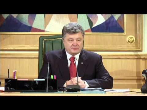 Poroshenko Slams Insurgent Vote: Ukrainian President refuses to recognise unsanctioned election