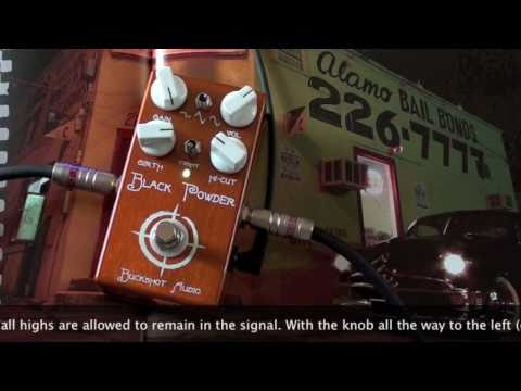 Bucktone: Black Powder Overdrive - Charvel to HIWATT SA212