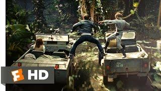 Indiana Jones 4 (7/10) Movie CLIP - Jeep Sword Fight (2008) HD
