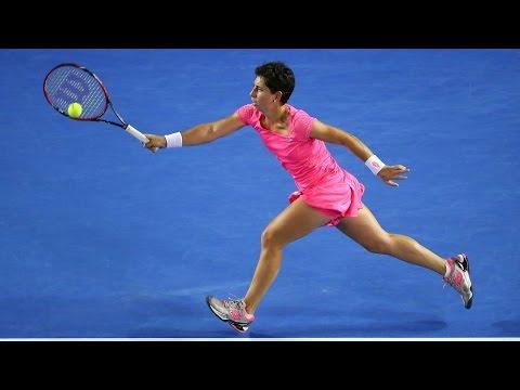 Carla Suarez Navarro v Daria Gavrilova highlights (4R) | Australian Open 2016