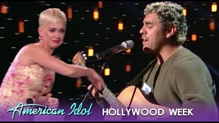 Alejandro Aranda: Katy Perry THROWS Her Clothes At This Fan Favorite! | American Idol 2019