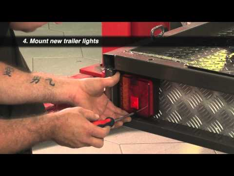 Replacing Trailer Wiring and Lights