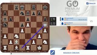 A Magnus Carlsen Immortal Zugzwang Game