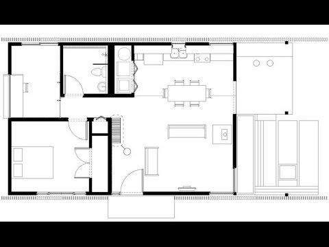 Plano De Casa Peque A Incluimos Fachada E Interiores