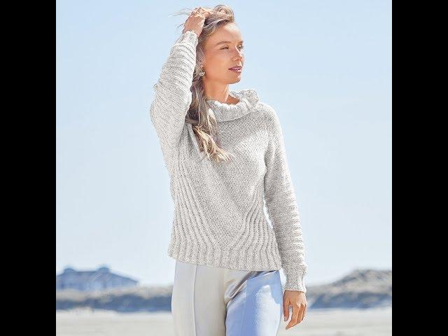 Вязание Свитера Сверху без Швов Спицами - модели 2019 / sweater from above without seams