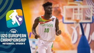Portugal v Slovakia - Full Game - FIBA U20 European Championship Division B 2019