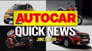 Kia Seltos and Renault Triber debut, Thar 700, KTM RC125 price and more | Quick News | Autocar India