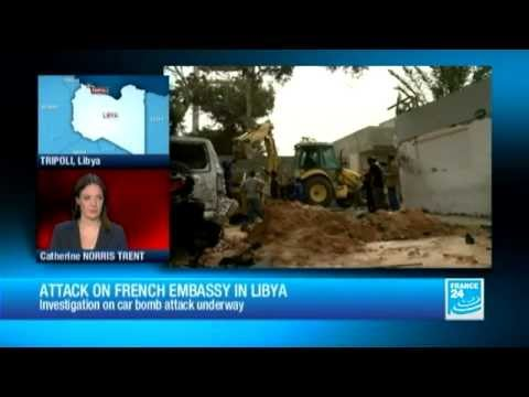 LIBYA - Attack on french embassy in Tripoli: investigation underway