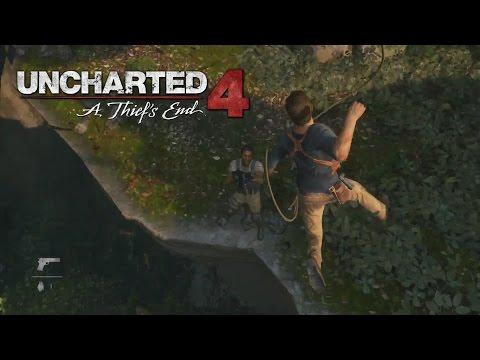 Обзор геймплея Uncharted 4 PSX 2014