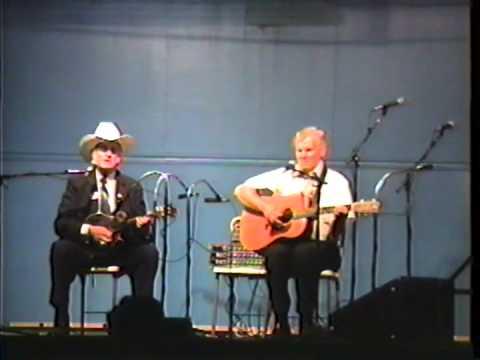 Rare Video - Doc Watson&Bill Monroe - Watson Blues - 1990