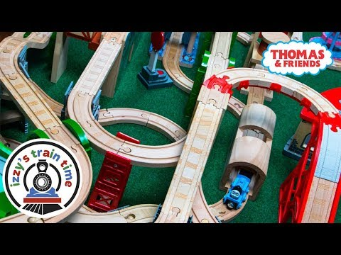 Thomas and Friends SICK DAD TRACK | Fun Toy Trains for Kids | Thomas Train with Brio