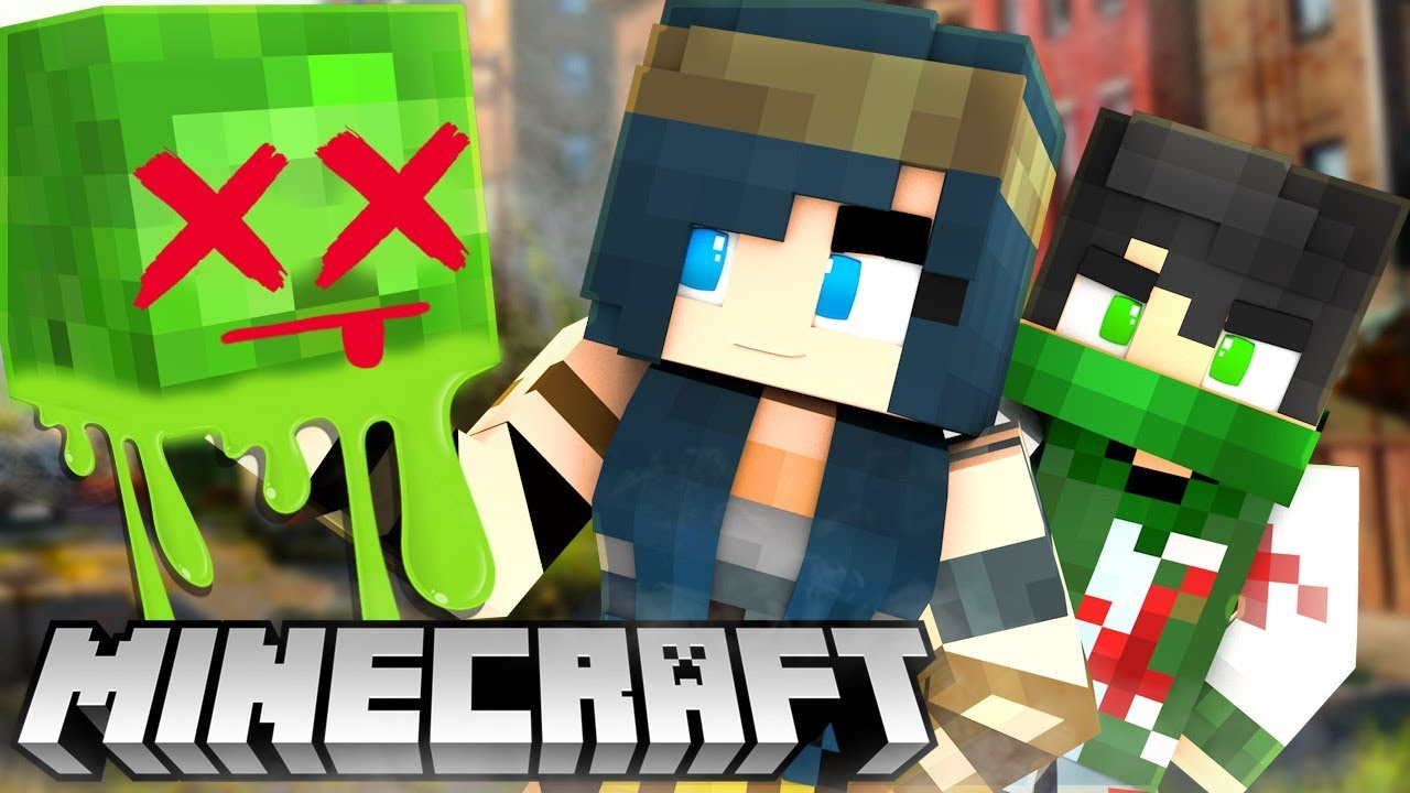 THE MINECRAFT ZOMBIE APOCALYPSE! | Minecraft Adventures