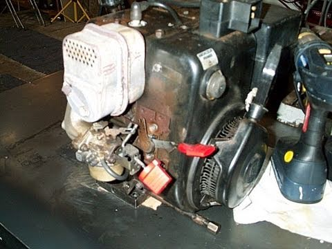 Quick Carburetor Repair on Snowblower Part 1