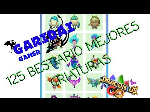 Draconius go - 125 criaturas bestiario - Mejores criaturas - GARIDAI #1