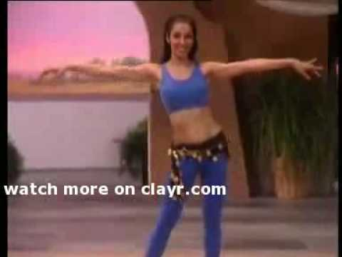 Arabic Belly Dance Basic Moves Part 02 of 04 brunette