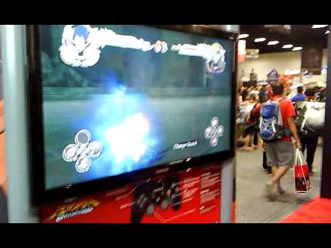 Comic Con 2011 ~Viz~ New Naruto storm game at comic con!
