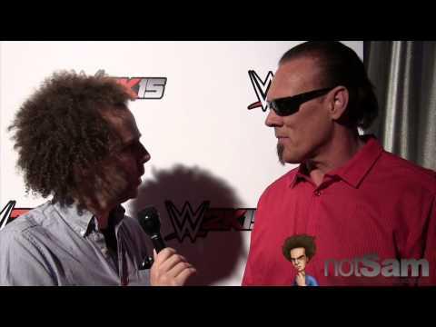 Sam Roberts & Sting - WWE Match, Undertaker, Starrcade Finish, WWE 2K15, & more