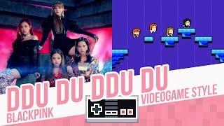 DDU DU DDU DU, BLACKPINK - Videogame cover - 8 bits