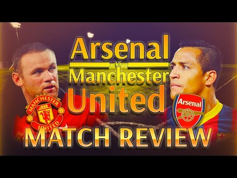 Arsenal vs Manchester United 1-2 | Match Review | Rooney Lifts United over Arsenal