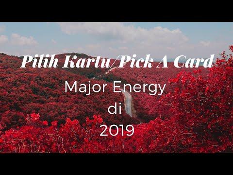 Pilih Kartu/Pick A Card : Major Energy Di 2019