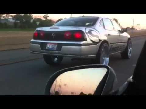 2011 Impala On 24s >> Mike 2005 Impala on 26s Freeway Ridin - YouTube