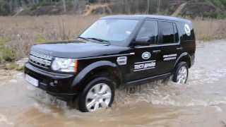 Land Rover Discovery 4. Водная преграда
