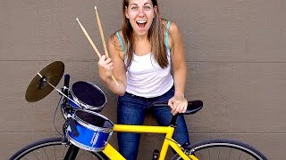 Can I Make my Bike a Drum Set?
