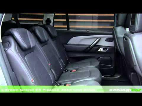 Citroen Grand C4 Picasso 2014 test drive