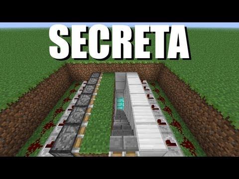 Minecraft Tutorial Parte 08 Passagem Secreta Subterrânea.