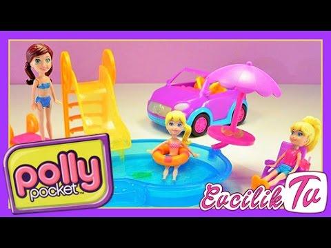Polly Pocket Havuzda G�zel Bir G�n - Oyuncak Oyunlar� EvcilikTV