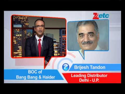 Box-Office Collection 'Bang Bang & Haider' - ETC Bollywood Business - Komal Nahta