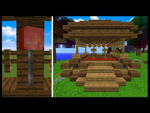 NEW SPAWN WAGON MEAT SHOP!! | Minecraft Harmony Hollow S4 SMP | #6
