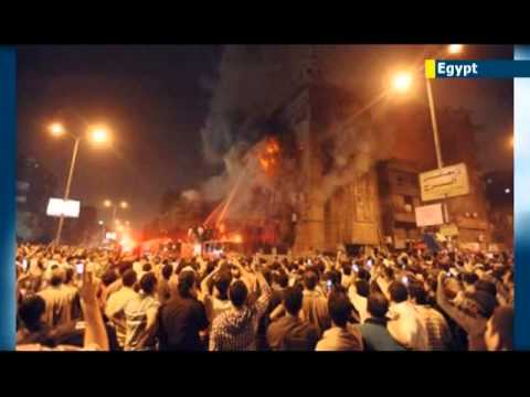 Egyptian Christians suffer Muslim Brotherhood backlash: 20 Coptic churches set on fire across Egypt