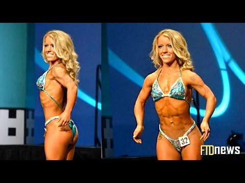4 Foot Tall Female Body Builder Extreme Workout - Amanda Loy video