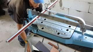 SIGMA плиткорез/Tile cutting