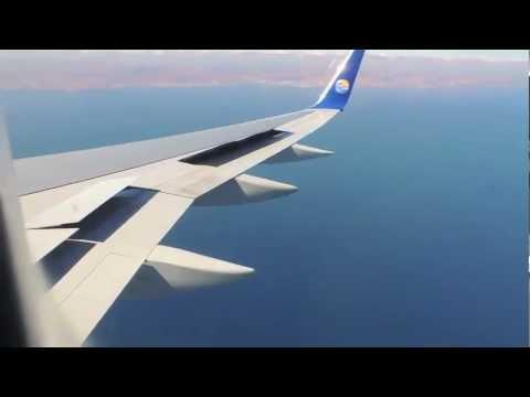 Thomas Cook Boeing 757-300 landing at Fuerteventura