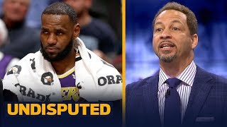 Chris Broussard says fatigue led to one of LeBron James
