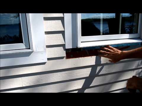 How to Replace Exterior Window Trim Video
