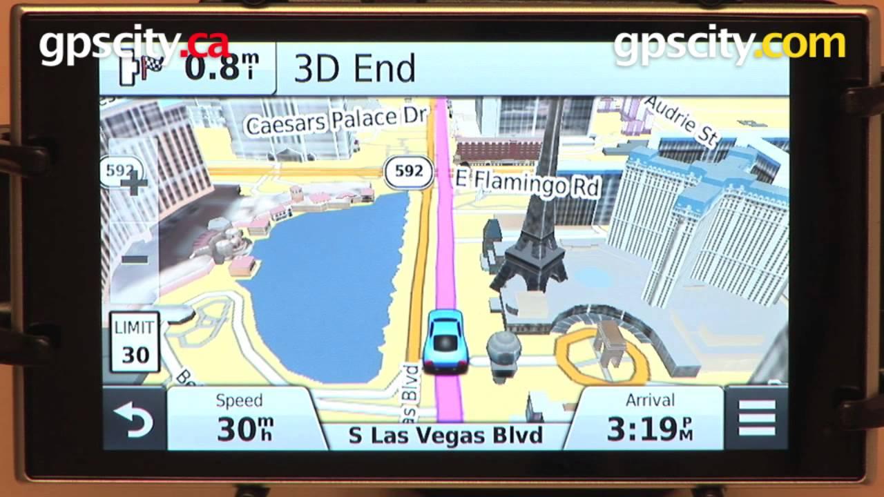 Garmin Nuvi 3597lmthd 3d Buildings Youtube