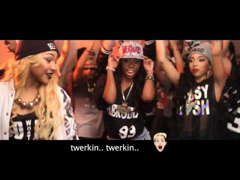 Heroine - TLMC Twerkin Like Miley Cyrus (Music Video)