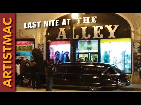 The Last Night at The Alley, Chicago's Counterculture Store