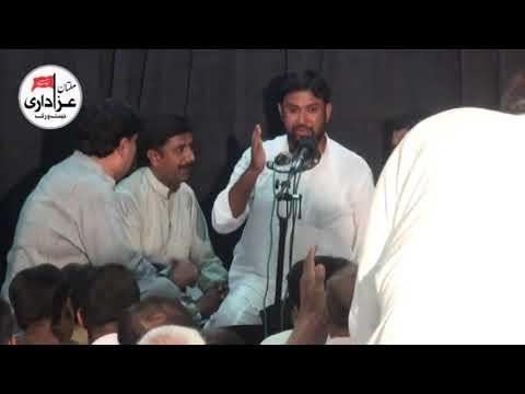 Syed Zia Haider Zaidi & Brothers |  Marsia | Majlis 25 August 2017 | Imam Bargah Mumtazabad Multan